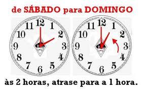 Não esqueça – Na madrugada de hoje para amanhã muda a hora