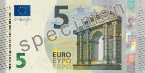 Banco de Portugal apresenta nova nota de 5 euros