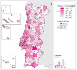 Porto e Lisboa concentram mais de metade do poder de compra nacional