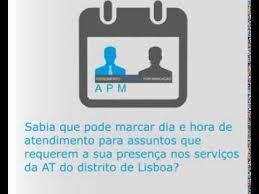 AT – Agendamento de atendimento presencial por marcação (APM)