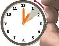 Horário de Inverno 2015 – 25 de outubro muda a hora